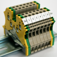 Ad-Tech CCI Custom Din Rail Assembly