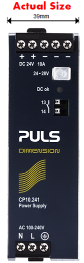 PULS CP10 Power Supply Actual Size