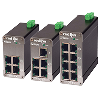 Red Lion Ethernet Switches