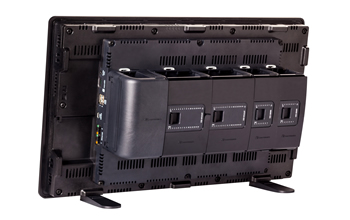 Unitronics Unistream PLC + HMI All In One back view